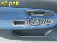 SUBARU IMPREZA WRX STI WINDOW CONTROL DOOR CARD STICKERS STI IN PINK ALL COLOURS