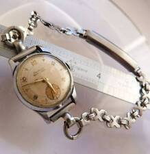 ANTIQUE ART DECO 1930s SWISS WRIST WATCH BIERIWATCH 15 RUBIS WORKING WATCH,