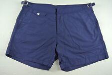 Purple Label Ralph Lauren Swim Trunks Sz 40 Swim Briefs Solid NAVY MSRP $295