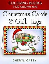 Wingfeather Coloring Bks.: Christmas Cards and Gift Tags : Coloring Books for...