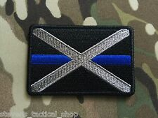 Subdued Thin Blue Line Alabama State Flag Patch, Law Enforcement