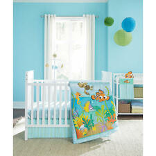 Disney - Finding Nemo Crib Bedding set 5-Pc W Bumper  - Nemo's Reef