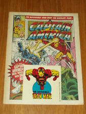 CAPTAIN AMERICA #3 BRITISH WEEKLY 11 MARCH 1981 WITH FREE GIFT^