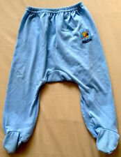 ♥ Disney Baby Pooh Blue Pants with Booties 6-12m ♥