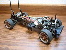 Vintage Tamiya 1/10 FWD FF02 RC Touring Car nice Front Wheel Drive New Build