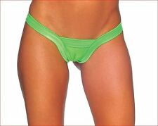 BZ-1129 Sexy Stripper Gogo Dancer Wear Outfit Neon Green Comfort V Back Thong
