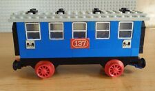 LEGO 4.5V 137 Passenger Sleeping Car 4.5 Volt Vintage Train Railway Eisenbahn