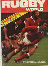RUGBY WORLD MAGAZINE SEPTEMBER 1981 - PERFECT GIFT FOR A FAN BORN IN THIS MONTH