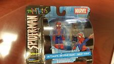 Marvel Minimates Ultimate Spider-Man Gray Hulk 2003 Comic Con EXCLUSIVE Diamond