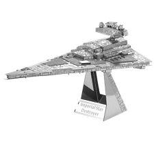 Metal 3D Kid DIY Miniature Model Building Puzzle Millennium Falcon Toy JL