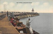 POSTCARD  GORLESTON ON   SEA  Cosy  Corner       Fishing  Related...
