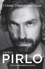 2DAY SHIPPING | I Think Therefore I Play, PAPERBACK, Andrea Pirlo, 2015