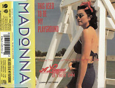 MADONNA This Used To Be My Playground CD Single - Germany
