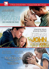 Safe Haven/Dear John/Notebook  DVD NEW