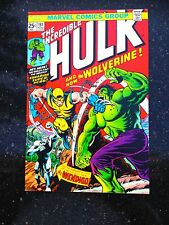 HULK #181 1st App WOLVERINE Comic Book Magazine 1974 NM 9.4 MAJ Key CGC it X-Men