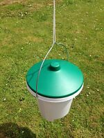 12L ROBUST BUCKET NIPPLE DRINKER 12LTR POULTRY CHICKEN NEW CLEANER WATER SYSTEM