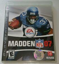 Madden NFL 07 Playstation 3