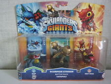 Skylanders Giants 3er-Set (Hot Dog, Zap 2, Catapult) - Neu & OVP