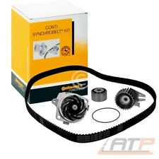CONTITECH TIMING CAM BELT + WATER PUMP VW TRANSPORTER BUS T4 2.4 2.5