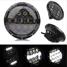 2X 7inch Round 75W Headlight H4 H13 High Low Led Lamp for Jeep CJ JK TJ Wrangler