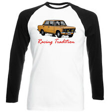 POLISH FIAT 125P INSPIRED RACING TRADITION - COTTON TSHIRT - ALL SIZES IN STOCK