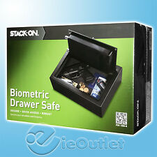 NW STACK ON PERSONAL GUN FIREARM BIOMETRIC QUICK ACCESS FINGERPRINT DRAWER SAFE