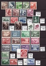 P261) Collection Third Reich Hitler Nazi WWII MNH, Cat Value 1200 €, see 3 scans