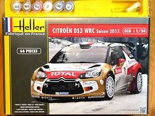 Heller 1:24 Citroen DS3 WRC 2013 Rally Car Gift Set Model Kit