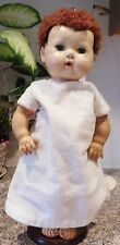 "Old American Character Tiny Tears 15"" Rubber & Hard Plastic Baby Doll"