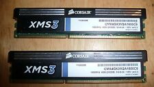 Corsair PC3-12800 (DDR3-1600) 2x2GB 4 GB DIMM 1600 MHz PC3-12800 DDR3 Memory...