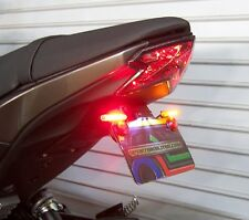 Kawasaki Z125 Pro STD Fender Eliminator Kit w/ LED Brake & Turn Signals - Smoke