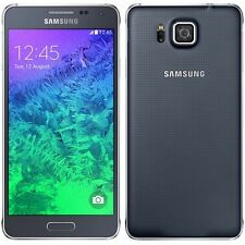 Samsung Galaxy Alpha SM-G850F 32GB Charcoal Black Unlocked Grade B Condition