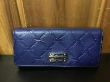 LONGCHAMP LM Cuir French Leather Wallet~Navy~NEW