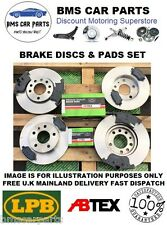 FORD FOCUS MK 1 1998-2004 FRONT AND REAR BRAKE DISCS AND PADS SET