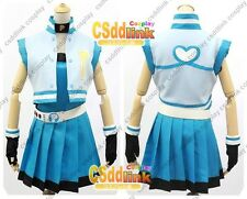 Powerpuff Girl Z Rolling Bubbles Cosplay Costume Blue