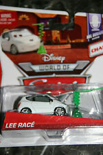 "DISNEY PIXAR CARS 2 ""LEE RACE"" CHASE CAR, LOOSE, SHIP WORLDWIDE"