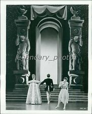 1955 The Glass Slipper Original Press Photo Leslie Caron