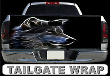 T298 WOLF Tailgate Wrap Decal Sticker Vinyl Graphic Bed Cover
