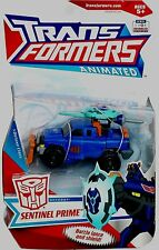 "Transformers Animated Deluxe Class Sentinel Prime New 4"" Factory Sealed 2008"