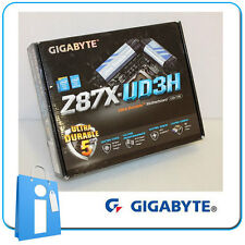 Placa base ATX Z87 GIGABYTE GA-Z87X-UD3H Socket 1150 con Accesorios