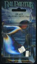 RAL PARTHA DF-415 TREASURE CHEST (OPEN) SEALED Metal Miniatures Blister D&D
