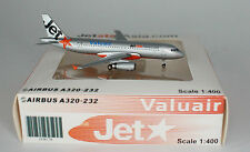 JC Wings JC4178 Airbus A320-232 Jetstar Asia Airways 9V-JSD in 1:400 scale