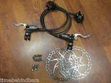 KCNC HYDRAULIC BRAKE LEVER CALIPER AND  MM RAZOR 6 BOLT DISC ROTOR