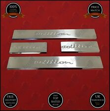 vauxhall opel ASTRA J chrome door sill scuff scratch guard S.STEEL 2010-2015