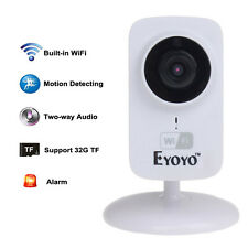 Eyoyo S1 Mini IP Wifi CCTV Wireless Camera HD 720P Smartphone Audio Baby Monitor