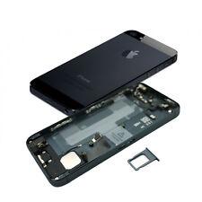 BACK COVER POSTERIORE ASSEMBLATA IPHONE 5 5G NERO/GRIGIO ARDESIA BLACK QUALITÀ++