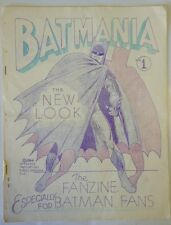 Batmania #1, July 1964, Fanzine