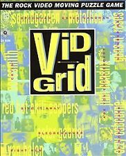 Vid Grid (PC, 1994)ROCK VIDEO MOVING PUZZLE GAME - FUN - SHIPS FREE - $15.95