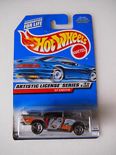 HOT WHEELS ARTISTIC LICENSE SERIES GIRLS PICTURE ON DOOR 2/4 57 CHEVY