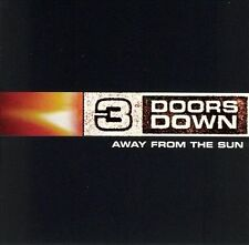 Away from the Sun by 3 Doors Down(CD, Nov-2002, Universal Distribution)Disc Only